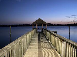 Wilson Bay Pier Fishing Jacksonville NC Downtown